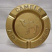 Advertising Camel Cigarettes Four Ash Trays