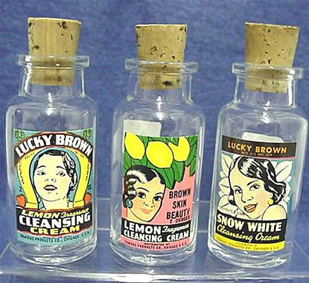 Sold Three Drugstore Bottles Advertising Black Memorabilia