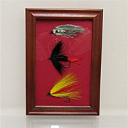 Weber Flies Framed