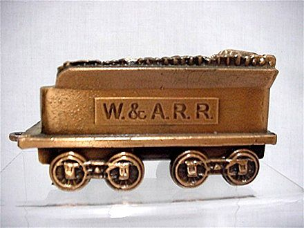 Bank Replica of Western & Atlantic  W & A.R.R. Railroad Car