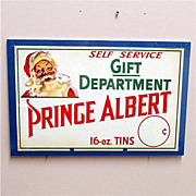 Prince Albert Tobacco Christmas Advertising Sign
