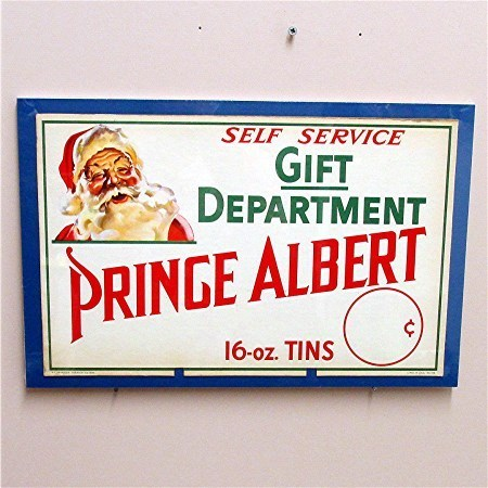Advertising Tobacco Sign Prince Albert Unused Condition