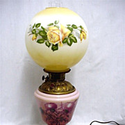 Lamp Antique Gone with the Wind Table Lamp $125 Sale Price
