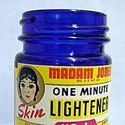 Madam Jones One Minute Skin Lightener Cobalt Jar