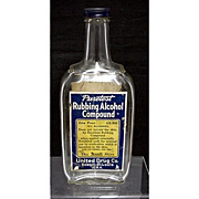 United Drug Co. Rexall Glass Bottle