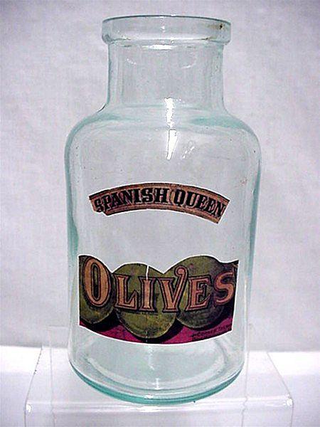 Olive Bottle Spanish Queen Brand