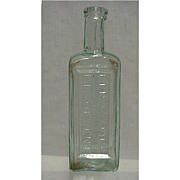 Radways Drugstore or Pharmacy Bottle for Renovating Resolvent