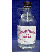 Medicinal Purgative Bottle from Drugstore or Pharmacy