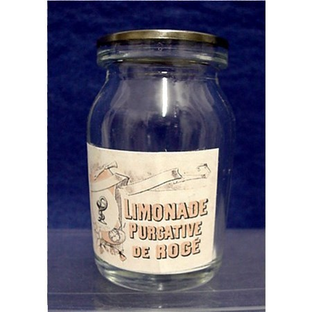 Limonade Purgative Drugstore or Pharmacy Bottle
