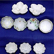 Porcelain Ring or Trinket Dishes Assortment of 11    ***Selling at Cost