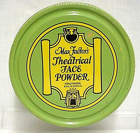 Max Factor Theatrical Face Powder Tin