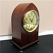 Seth Thomas Brass Dial Mantel Clock 100% Original And Completely Restored
