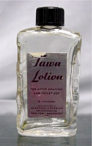 Tawn Lotion Glass Bottle