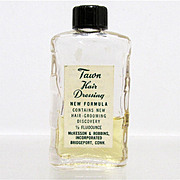 Tawn Hair Dressing Glass Bottle
