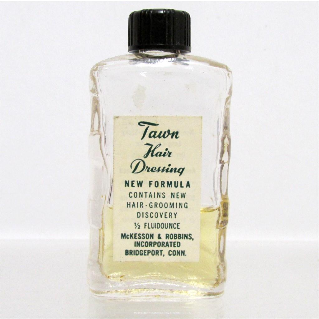 Tawn Hair Dressing Glass Bottle
