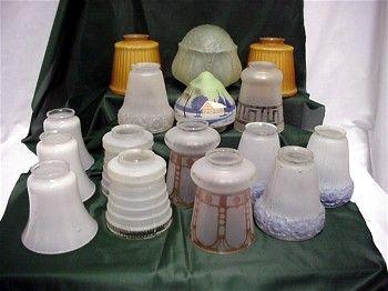 ... Lamp Antique Glass Light Shades Best 2000 Antique Decor Ideas Three  Antique Gl Shades For Drop Light ...