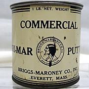 SOLD    Briggs  Maroney Everett  and Boston Massachusetts Advertising Tin