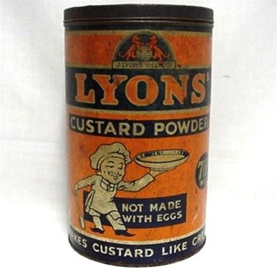 Lyons Custard Powder  Advertising Tin