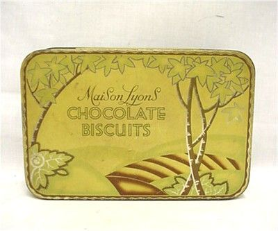 Maison Lyons Chocolate Biscuits Tin