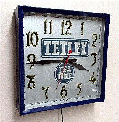 Tetley Tea Advertising Clock