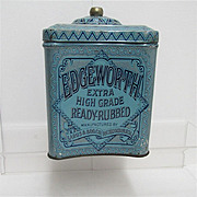 Edgeworth Humidor Tobacco Advertising Tin