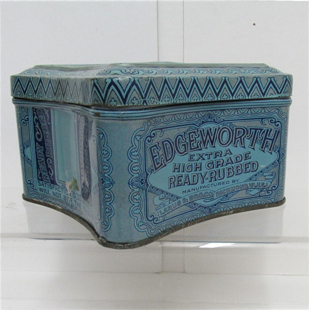 Edgeworth Smoking Tobacco Advertising Tin