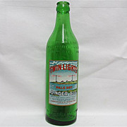Twin Lights Ginger Ale Bottle
