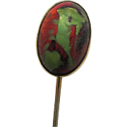 Stickpin Black Opal Coloring