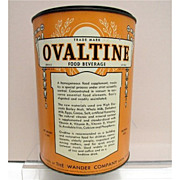 Ovaltine  Food Beverage 4 Pound Hospital Size Tin