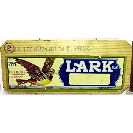Lark Wood Advertising Sign
