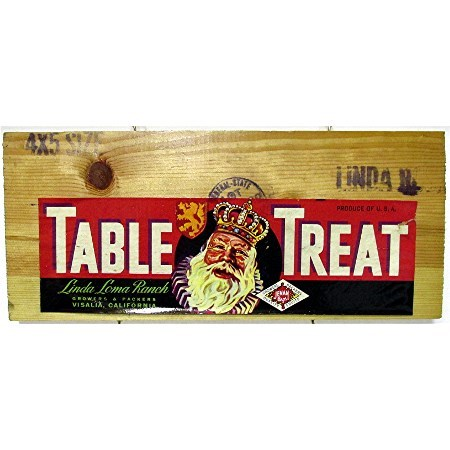 Table Treat Wood Advertising Sign 50+% OFF