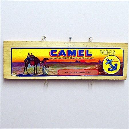 Large Camel Advertising Sign