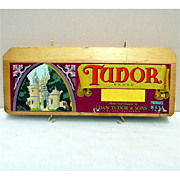 Tudor Wood Advertising Sign