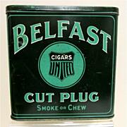 Belfast Cut Plug Tin