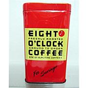 Eight O'Clock Coffee Savings Bank A & P Promotional Item