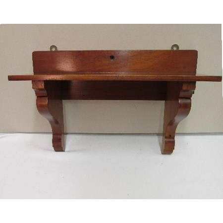 Mahogany Antique Wall Shelf