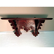 Victorian Wall Shelf Circa 1870