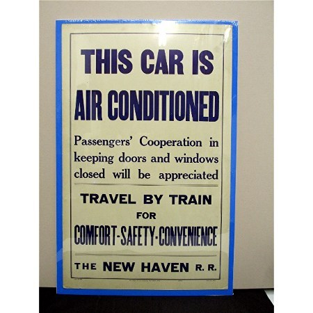 SOLD   1935 New Haven Railroad Poster