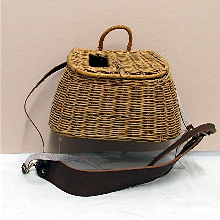 Original Hand Woven Fly Fishing Creel Or Basket
