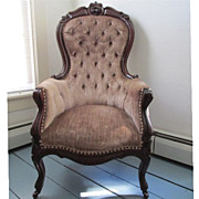Gentlemans Victorian Arm Chair