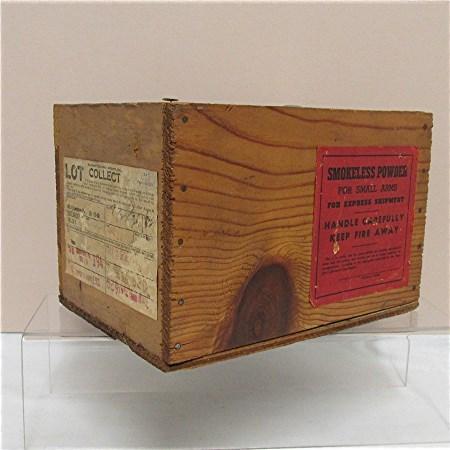 Smokeless Gun Powder Advertising Box