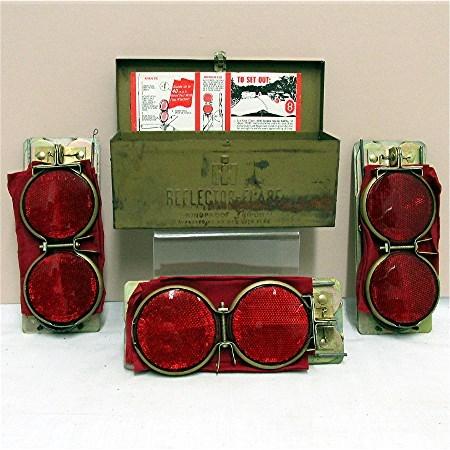 Car Emergency Reflector Flare Kit