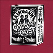 Gold Dust  Washing Powder Hang Tag