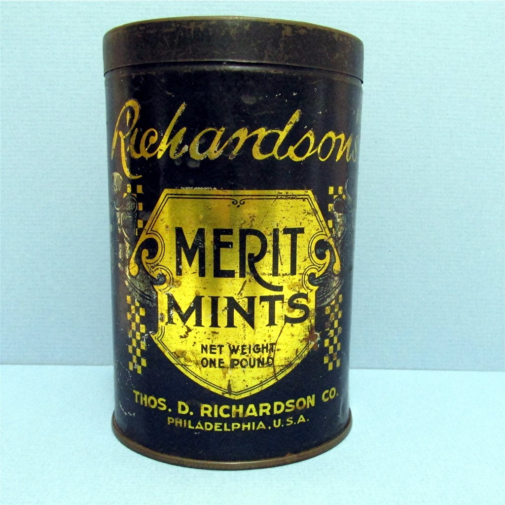 Candy Tin Richardson Merit  Mints