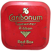 Caribonum Typewriter Ribbon Tin