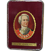 Murat Club Cabinet Pocket Cigar Tin