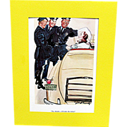 3 Cartoons Prints By Gilbert Bundy Esquire Magazine 1936-37