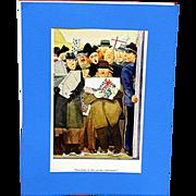 Three Cartoon Prints by E. Simms Campbell Esquire Magazine 1936-37-38