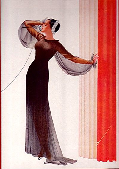 January 1936 George Petty Print