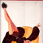 February 1936 George Petty Print 50% Off